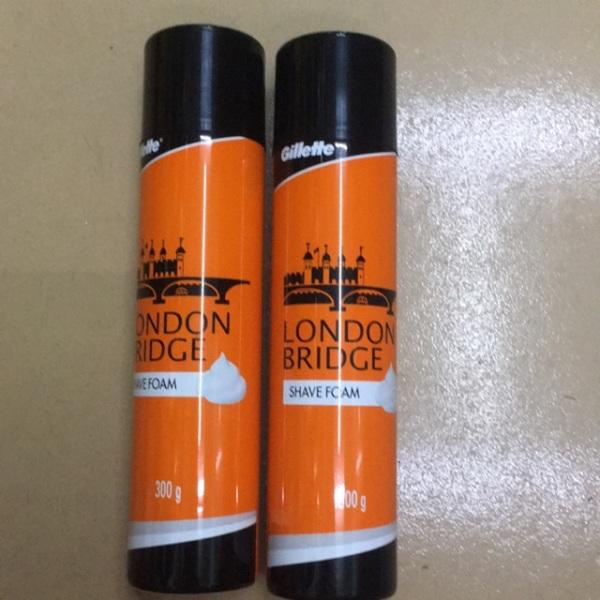 Bọt cạo râu Gillette London Bridge 300g