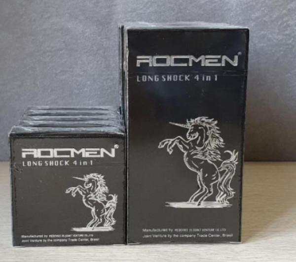 BCS Rockmen đen 4in1- Hộp