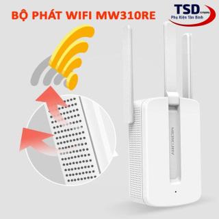 KHUẾCH ĐẠI WIFI MERCURY 3 ANTEN MW310RE- Bộ siêu kích sóng wifi lên đến 300Mbps- Phiên bản mới 2020- Thuận tiện cho người sử dụng- Bảo hành điện tử 1 đổi 1 trong 6 tháng thumbnail