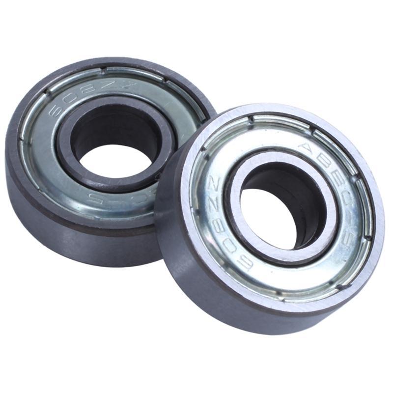 Giá bán (pack of 20) 608 ZZ Skateboard Bearings, Double Shielded,8x22x7 Miniature Ball Bearings