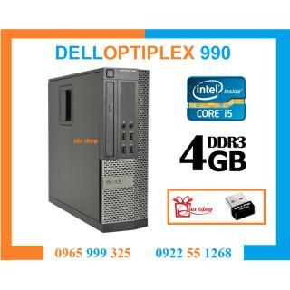 Cây máy tính để bàn nguyên bộ DELL OPTIPLEX 790 INTEL CORE I5, RAM 4GB, SSD 240GB. Dùng tin học văn phòng, giải trí, chơi game, đồ họa. Hàng Nhập Khẩu, Bảo hành 2 năm, Quà Tặng usb wifi thumbnail