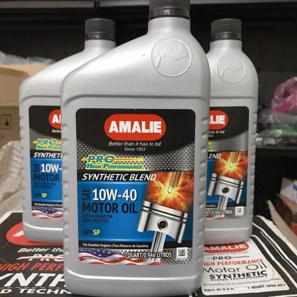Amalie Pro 10W40 API SN - nhớt cao cấp nhập khẩu từ Mỹ