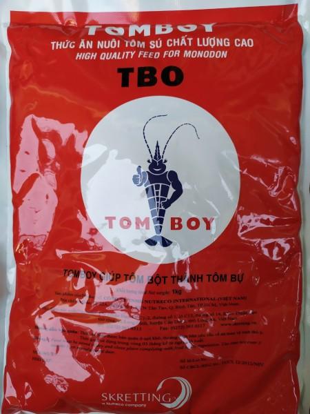 Cám Tomboy [ Số 0 ] hạt mịn thức ăn cho tôm bột,cá con và cá nhỏ loại 1kg