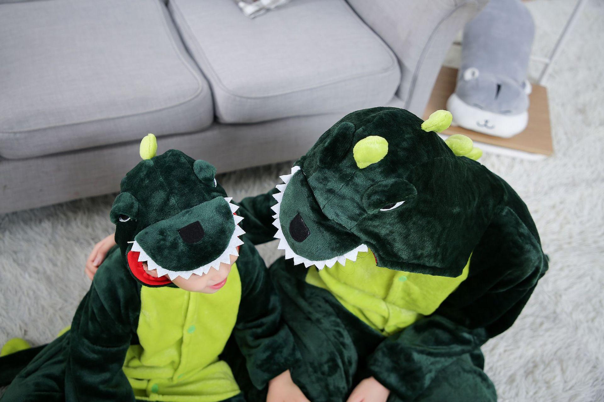 Giá bán Bộ Đồ hình thú Khủng Long xanh liền thân lông mịn Pijama dành Cho Người Lớn và Trẻ Em kiểu dáng Động Vật Hoạt Hình Cosplay Đầy Đủ Các Mẫu Mã Kích Cỡ nhiều màu khahanshop
