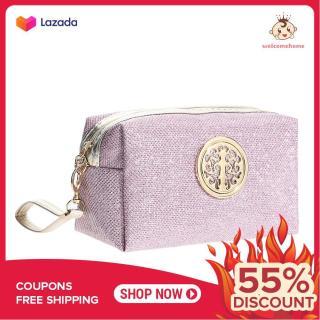 Túi Trang Điểm Túi Xách Prince Bag Pearlite Lớp Bột Vàng Phấn Bắt Sáng (Hồng) thumbnail