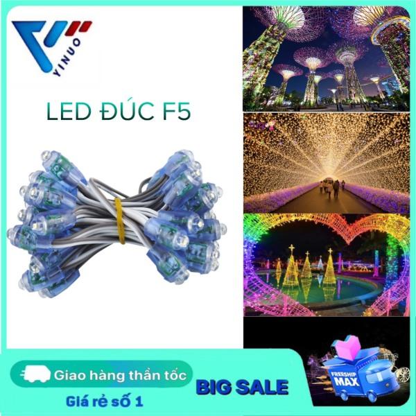 Bảng giá [ BẢO HÀNH ] Đèn LED đúc 5V, led hạt, đèn led quấn cây, đèn Led trang trí ngoài trời, đèn LED quảng cáo chống nước