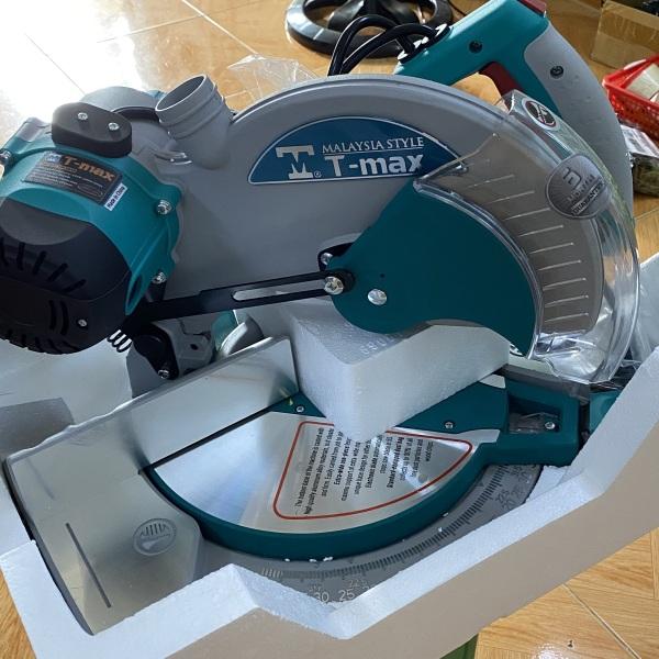 Máy cắt nhôm 255mm T-MAX TM-255B 1850W (Tặng lưỡi cắt hợp kim)