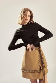 MAVEN - Chân váy đắp chéo buộc nơ trang trí Sephera thumbnail