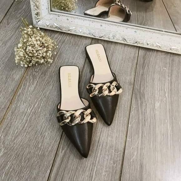 {TẶNG 5 KHẨU TRANG} Sục xích thời trang siêu đẹp đi êm chân, giày sục giá rẻ - Citashoes giá rẻ