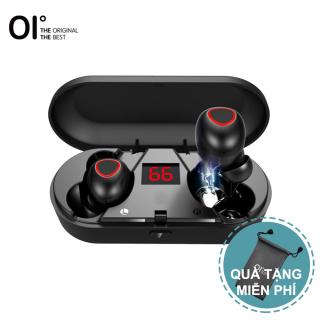 Mới tai Nghe Không Dây Chân Thực Oi M8B Pro Tai Nghe Bluetooth Thể Thao Phát Lại 8 Giờ Màn Hình LCD Âm Thanh Nổi Sạc Nhanh Ghép Nối Một Bước Với IPX6 Không Thấm Nước -- Màu Đen thumbnail