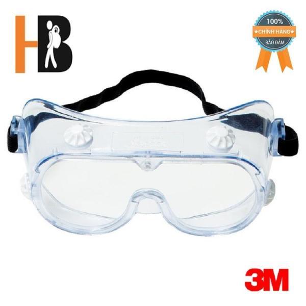 Giá bán Mắt kính bảo hộ chống hoá chất 3M 334