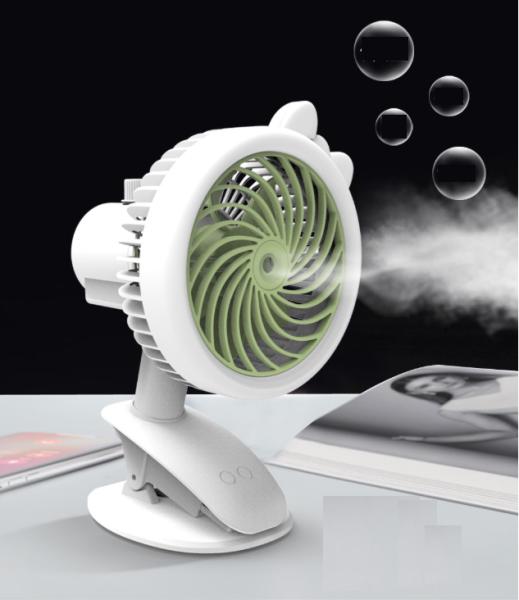 Xả 260 Quạt phun sương mini tích điện tiện lợi có kẹp để bàn như điều hòa mini, Quạt Phun Sương Hơi Nước Để Bàn Clip Fan có thể kẹp ở cạnh bàn