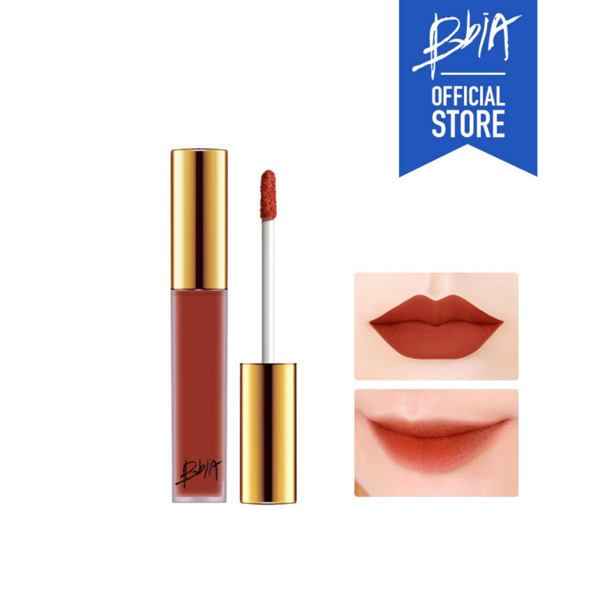 Son kem lì Bbia Last Velvet Lip Tint Version 3 - 12 Sweet Boss (Màu cam cháy)