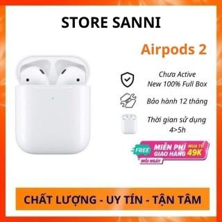 Tai nghe bluetooth không dây Airpods 2 kết nối điện thoại iphone, samsung, xiaomi, oppo. Tai nghe gaming có mic pin trâu. Tai nghe chụp tai. Tai nghe buetooth. Tai nghe airpod. Tai nghe true wireless. Tai nghe chơi game thumbnail