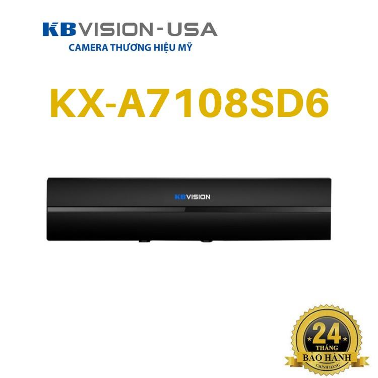 Đầu Ghi Hình 8 Kênh 5 In 1 Kbvision Kx-A7108Sd6