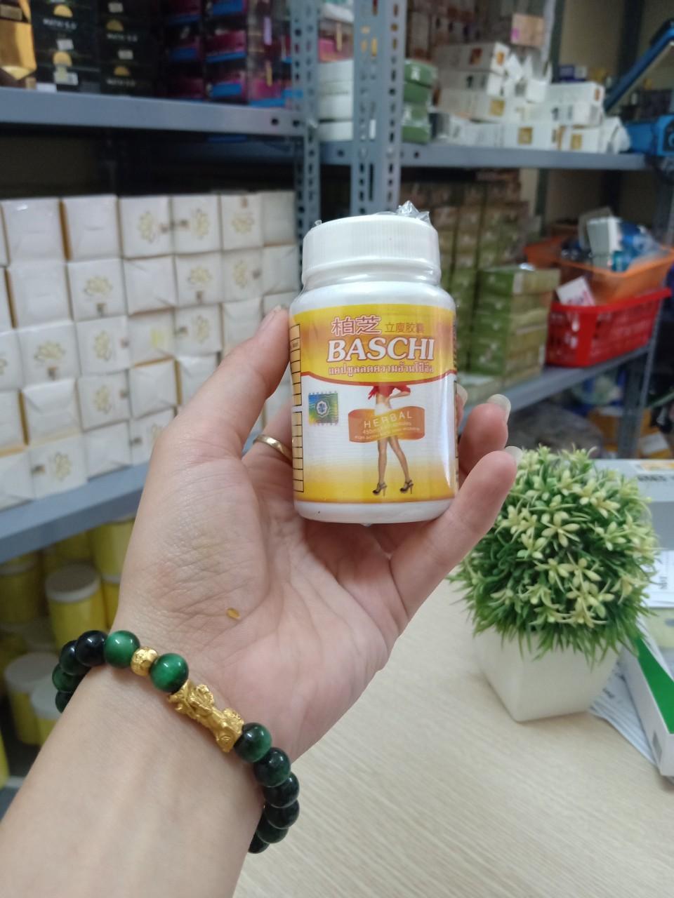 Viên Uống Giảm cân Baschi hộp nhựa 30 viên nhập khẩu