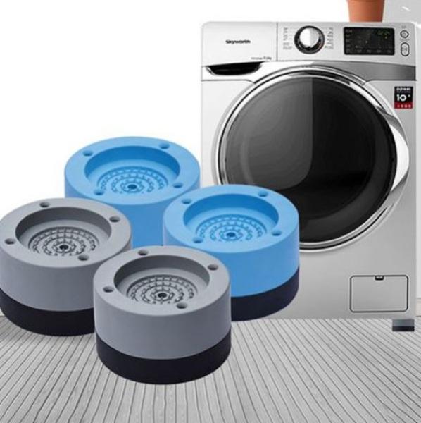 Combo 04 Đế máy chống rung silicon cho máy giặt, tủ lạnh