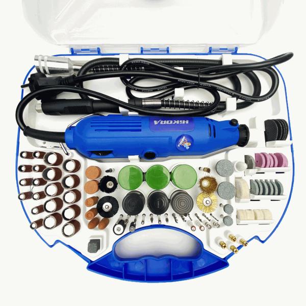 Máy khoan/Cắt/Mài - Bộ máy khoan mài mini Hikora 430W