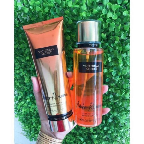 [HCM]Combo xịt thơm + dưỡng thể toàn thân Victoria's Secret Fragrance Mist Amber 250ml cam kết sản phẩm đúng mô tả chất lượng đảm bảo nhập khẩu