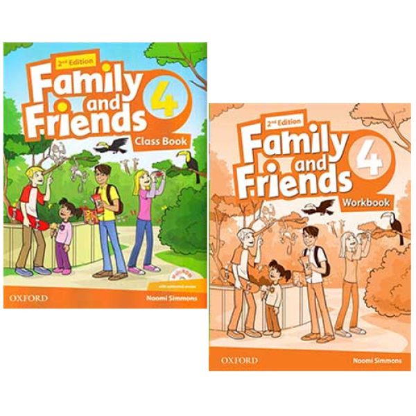 Mua COMBO (2 cuốn Class book + work book) Family And Friends 4 - 2nd Edition