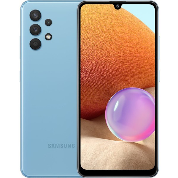 [THU NHẬP VOUCHER GIẢM NGAY 8% TỐI ĐA 800K] Điện thoại Samsung Galaxy A32 (8GB/128GB) Camera 64MP, Màn hình Super AMOLED 6.4-inchs HD+, Pin 5000mAh - Hàng Chính Hãng - Bảo hành 12 tháng