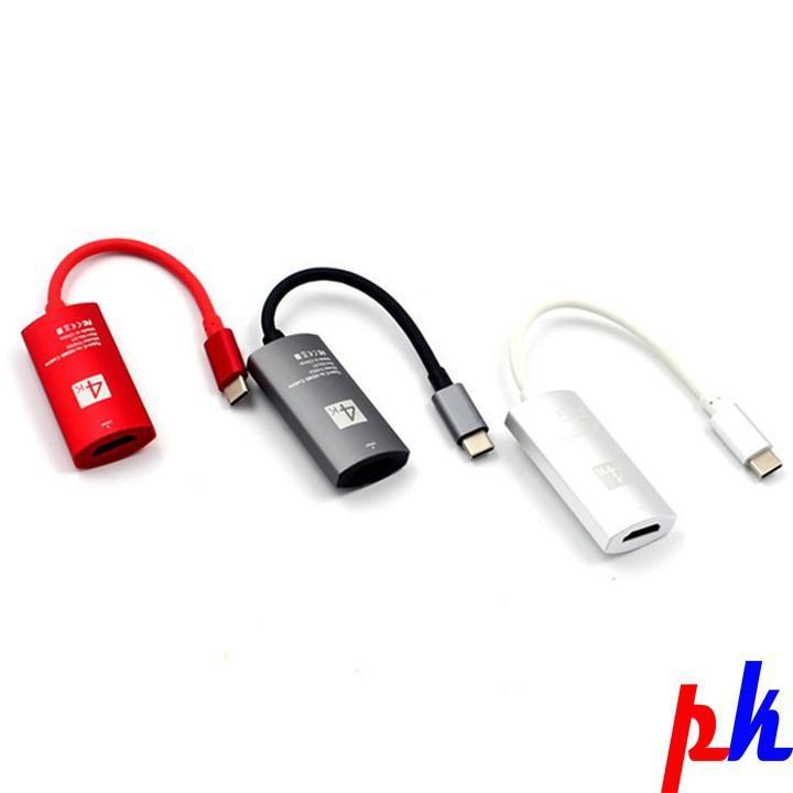 Cáp chuyển Type C to HDMI 4K