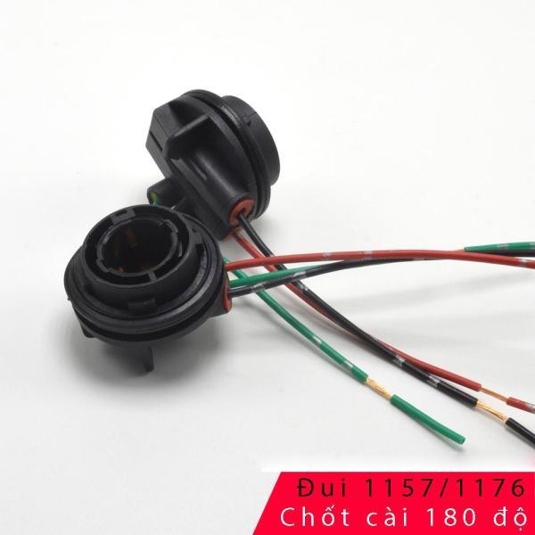 Bộ 2 đui đèn Stop 1157 cho bóng đèn Oto/Xe máy