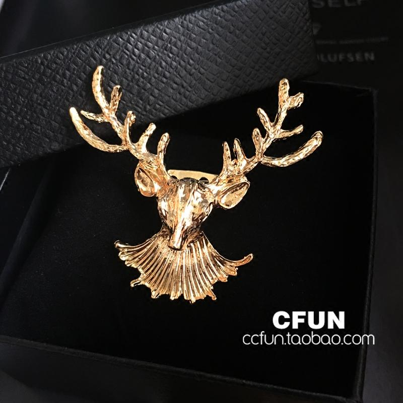 a73521465 Male Elk Brooch Fashion Bow Tie Shirt Accessories Suit Lapel Pin. Europe  And Korea Bow