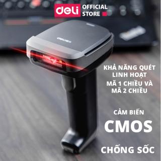 Máy quét mã vạch chính hãng Deli E14952 thumbnail