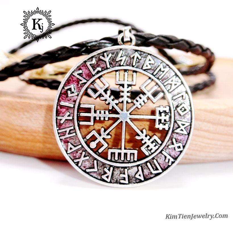 Mặt Dây Chuyền Phong Thủy Money Amulets mẫu 03 -0085 - Mang Đến May Mắn - Xua Vận Rủi - Tặng Kèm Dây