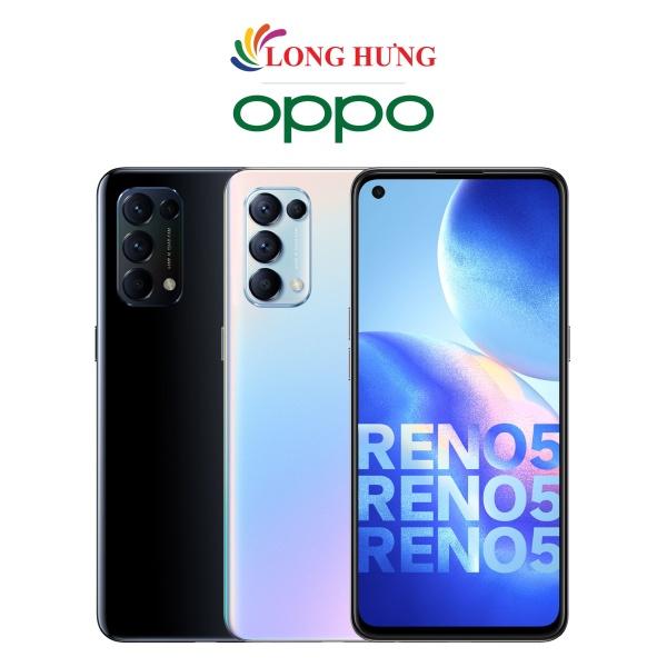 [Trả góp 0%] Điện thoại Oppo Reno5 (8GB/128GB) - Hàng chính hãng - Màn hình 6.43inch FHD+ Bộ 4 camera sau Pin 4310mAh Sạc siêu nhanh 50W