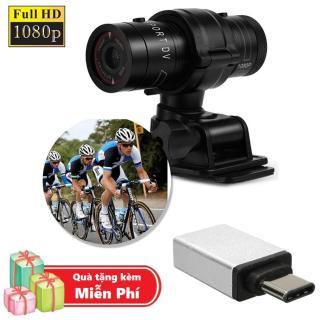 ( Quà tặng Đầu OTG cổng Type C cho điện thoại ) Camera hành trình chống nước cho xe đạp, xe máy M500 - Camera thể thao M500 Full HD 1080P thumbnail