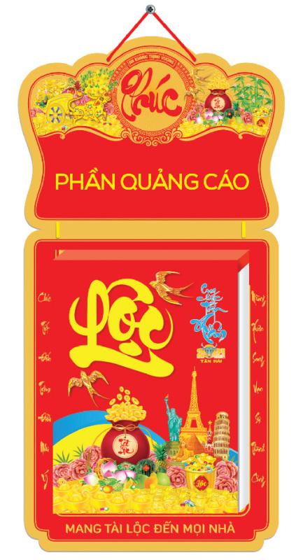 Lịch bloc An Khang (29cm x41cm)