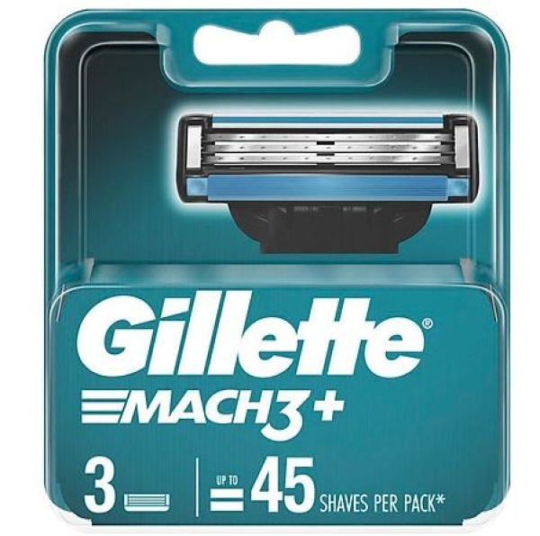 Hộp lưỡi dao cạo râu Gillette Mach3, vỉ 3 lưỡi giá rẻ