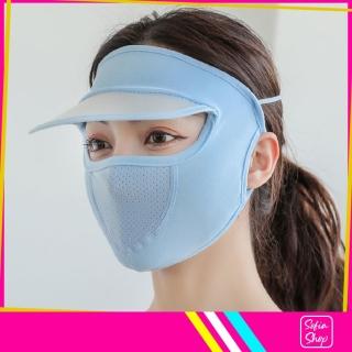 Khẩu Trang Ninja Nin Ja Nam Nữ Che Kín Mặt Có Mũ Chống Nắng Bụi Tia UV MUKK21 - Khau Trang Ninja Nin Ja Nam Nu Che Kin Mat Co Mu Chong Bui Nang Tia UV - ShopSofia thumbnail