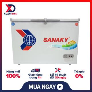 Tủ đông Inverter Sanaky VH-2899W3 280 lít -có bảng điều khiển nhiệt độ có thể điều chỉnh nhiệt độ theo ý muốn-GIAO HÀNG MIỄN PHÍ HCM thumbnail