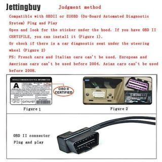 Jettingbuy Màn Hình Hiển Thị Tốc Độ Cho Xe Hơi Juxiongmi , Máy Chiếu HUD Cảnh Báo Tốc Độ MPH KM H thumbnail