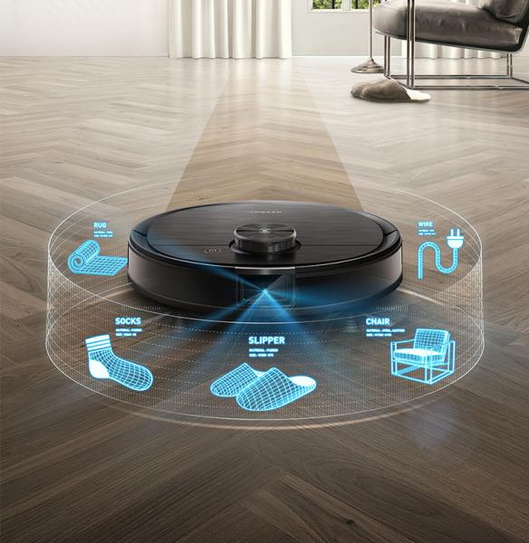 [Trả góp 0%]Robot Ecovacs Deebot T8 AIVI- Hàng mới 100% -Bảo Hành 12 Tháng