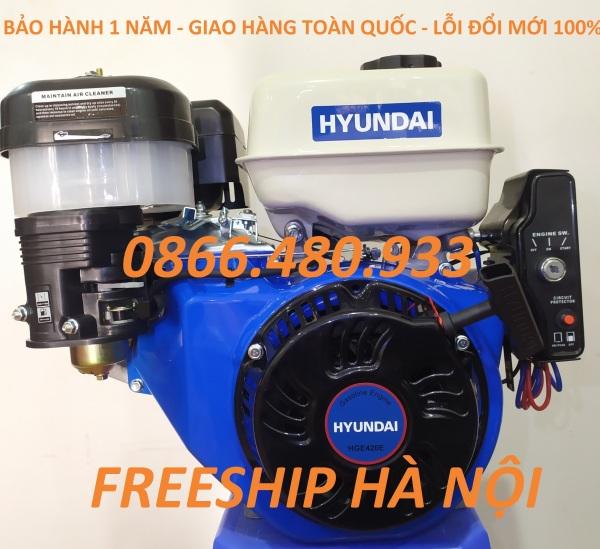 Máy Nổ – Động Cơ Xăng Hyundai 15HP HGE420E