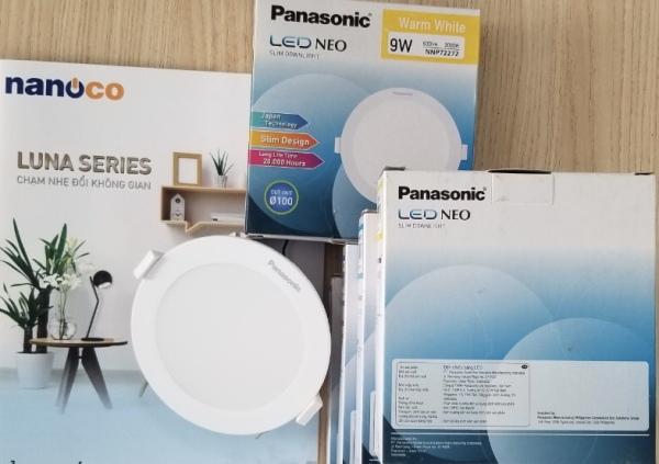 Đèn LED âm trần Panasonic 9W tròn NNP72272