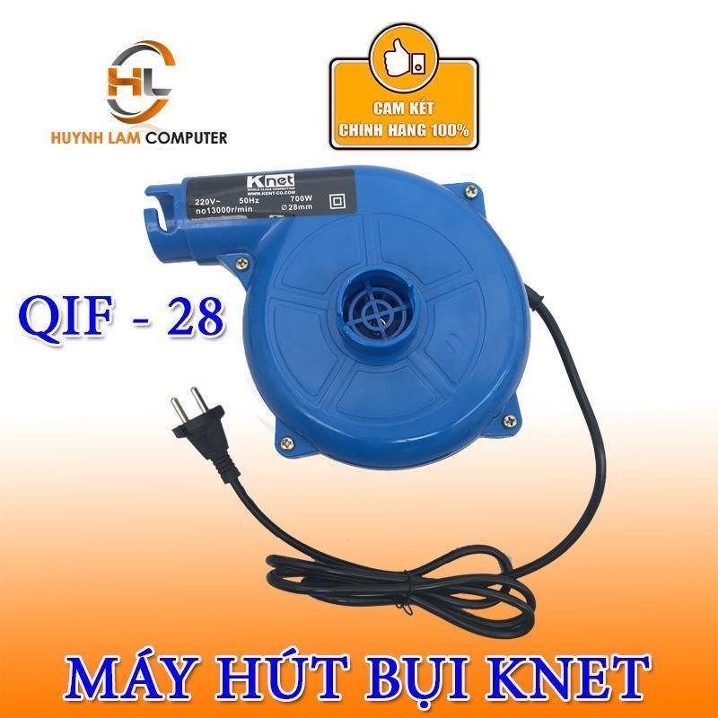 Máy hút bụi - Máy hút và thổi bụi Knet QIF-28 công suất mạnh mẽ 600w (xanh)