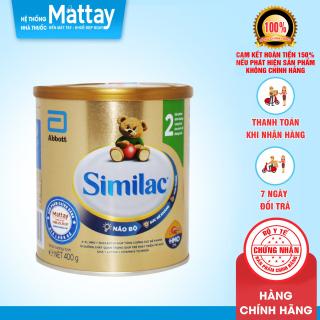Sữa Similac 2 ( 6-12 tháng ) - USA - Lon 400g - Bổ Sung Dinh Dưỡng Cho Bé thumbnail