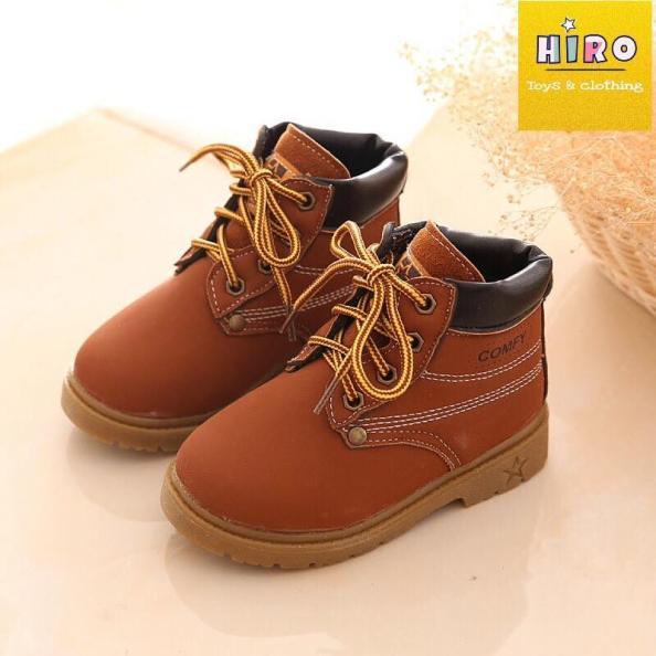 HOT Giày boot cho bé 1-7 tuổi giày boot sành điệu cho bé giá rẻ