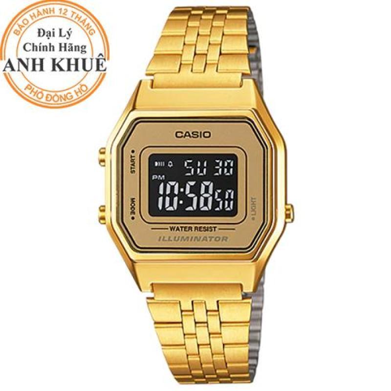 Đồng hồ nữ Casio Anh Khuê LA680WGA-9BDF