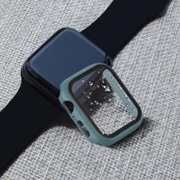 Ốp viền kèm kính cường lực bảo vệ mặt Apple watch 38mm, 40mm, 42mm, 44mm {Cung cấp sỉ toàn quốc}