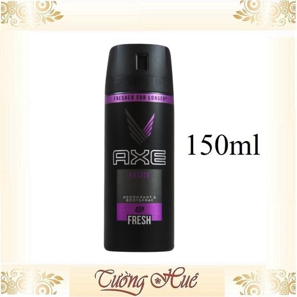 Xịt khử mùi nam AXE Body Spray for Men Excite 150ml nhập khẩu