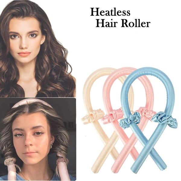 Máy cuốn tóc, Băng đô uốn tóc không dùng nhiệt TikTok , Máy uốn tóc không dùng nhiệt cho tóc dài, Băng đô thanh uốn tóc không dùng nhiệt, Bàn là & Đũa uốn tóc giá rẻ