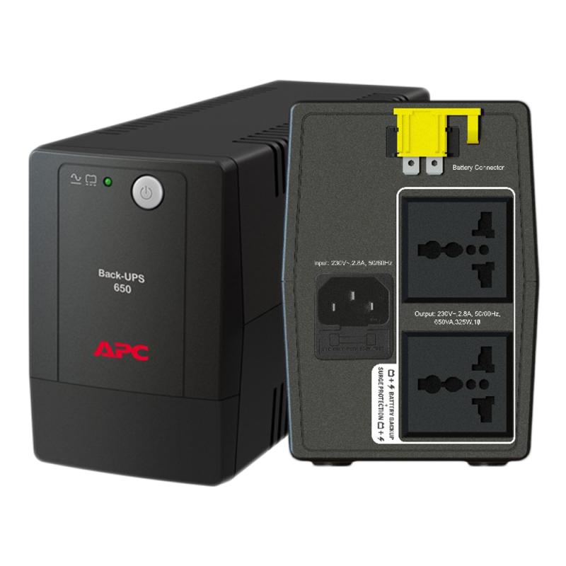 Bảng giá Bộ lưu điện UPS APC BX650LI-MS , 650VA, 230V - 325W  ( Có bình ) - Bảo hành 2 Năm Phong Vũ