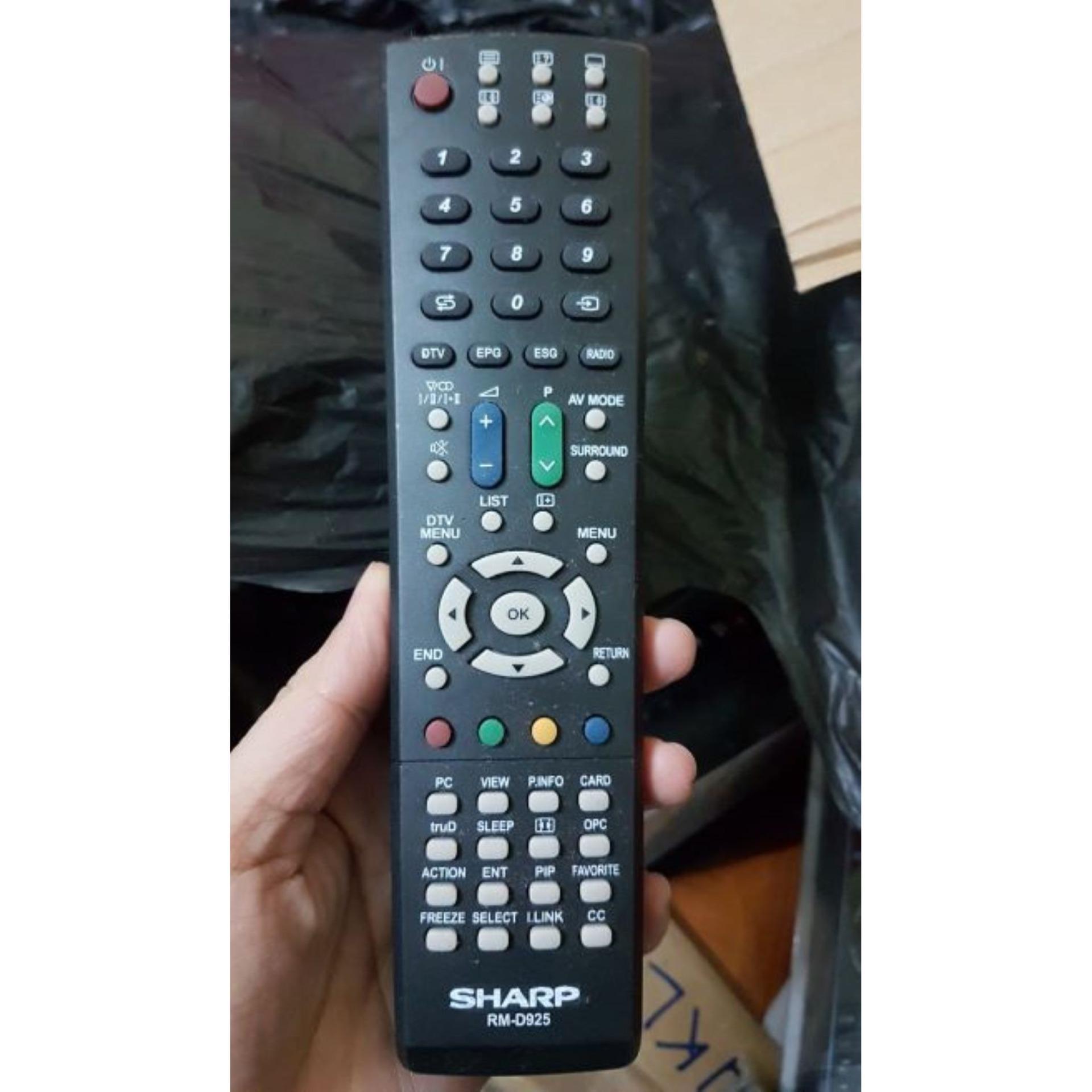 Bảng giá Điều khiển tivi Sharp RM D925