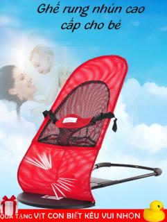 Ghế nằm - Ghế rung nhún khung thép cao cấp an toàn cho bé thumbnail